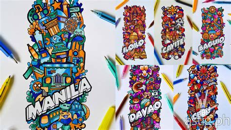 titus doodle contest 2015 titus pens idoodle 15 the most talented doodlers in ph