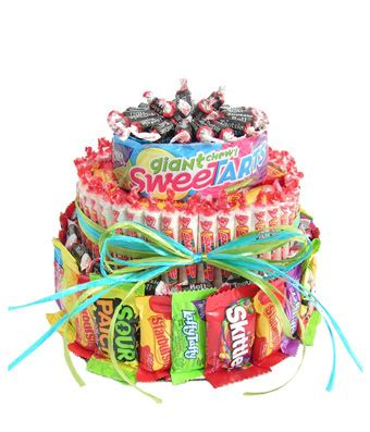 Bathroom Basket Ideas by Ultimate Candy Cake At From You Flowers