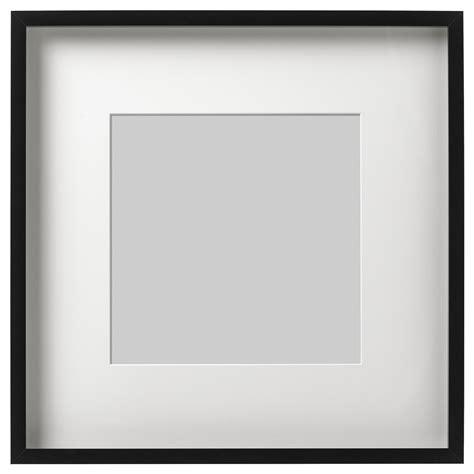 cornice ribba ribba cadre noir 50 x 50 cm ikea