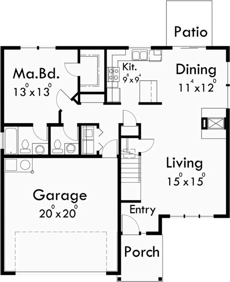 house plans master on main master on the main floor house plan