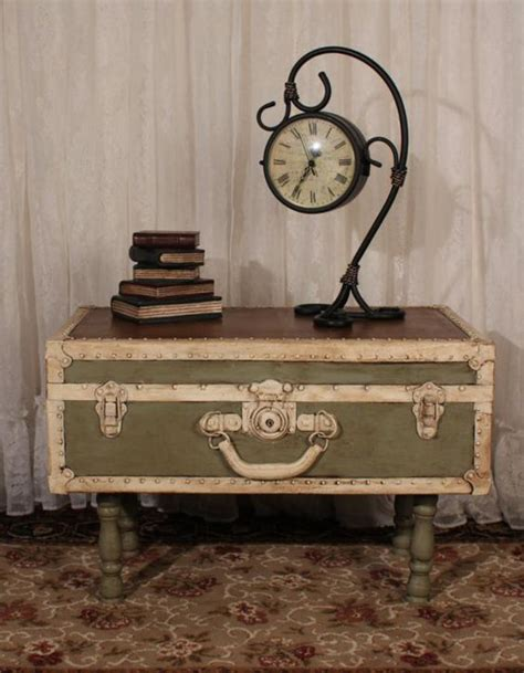 Customiser Une Valise Ancienne by La Table Basse Coffre Une Touche D 233 Co Vintage Qui Va