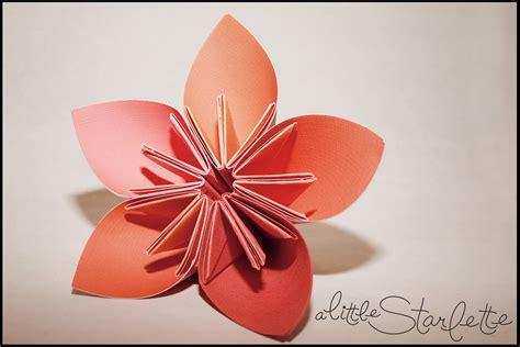 Paper Flower Designs - 5 petal paper flower design a starlette
