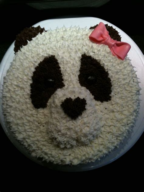 best 25 panda bear cake ideas on pinterest panda cakes