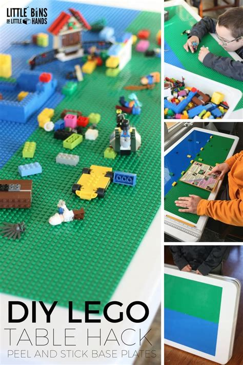 folding lego table diy folding lego table diy project with peel and stick base plates