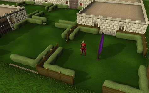 formal garden runescape wooden fence runescape wiki fandom powered by wikia