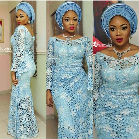 Wedding In Style by Aso Ebi Lace Styles For Wedding Guests Classical Styles