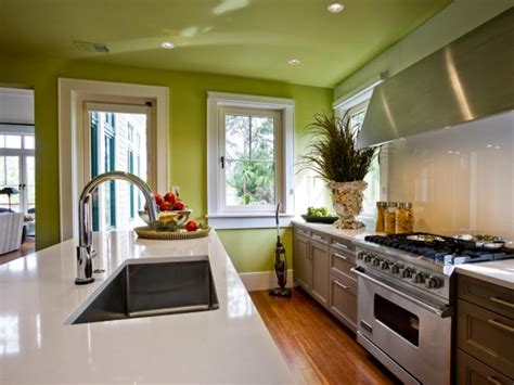 customize your kitchen with a painted island hgtv paint colors for kitchens pictures ideas tips from