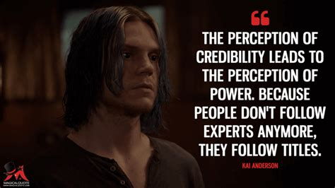 Horror Leads To by The Perception Of Credibility Leads To The Perception Of