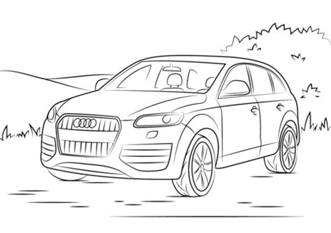 audi q7 coloring page | free printable coloring pages