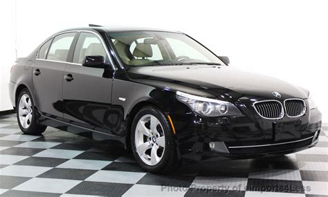 2008 Bmw 528i For Sale by 2008 Used Bmw 5 Series Certified 528i Premium Package