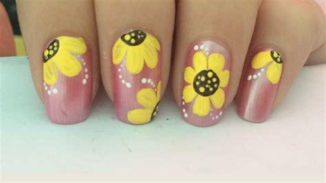 imagenes de uñas decoradas sencillas u 241 as decoradas paso a paso con flores 8 u 241 as decoradas