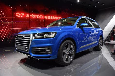 Audi Q7 Etron by Audi Q7 E Live Images From 2015 Geneva Motor Show