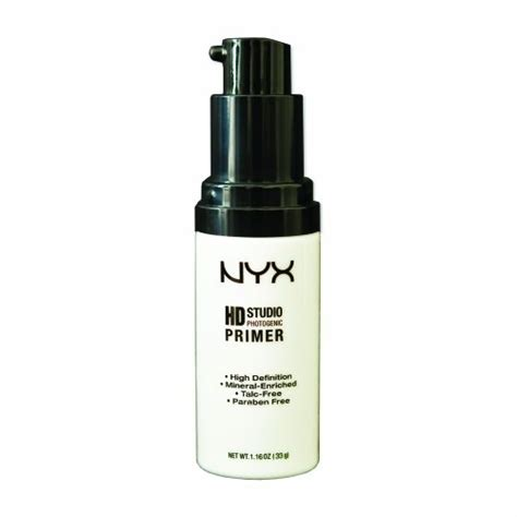 Nyx Hd Studio Primer nyx high hd studio primer 1 16 ounce