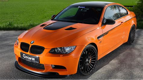 Bmw Orange by G Power Bmw M3 Tornado Rs Front Top Pose In Orange Wallpaper