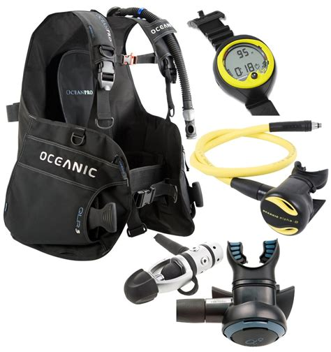 dive gear packages oceanic scuba gear package scuba packages essential