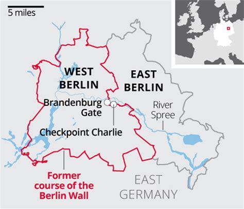 Berlin Wall Map | berlin wall 1961 revolutionsarethelocomotivesofhistory