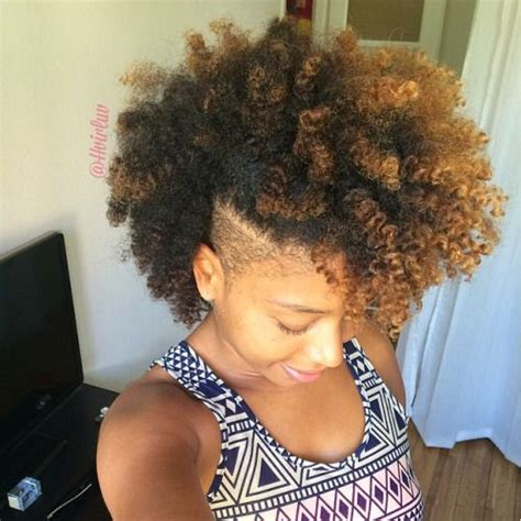 natural hair mohawk styles with the corners shaved 25 best ideas about natural hair mohawk on pinterest