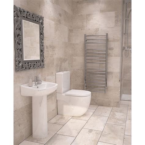 tile floor patterns for bathrooms