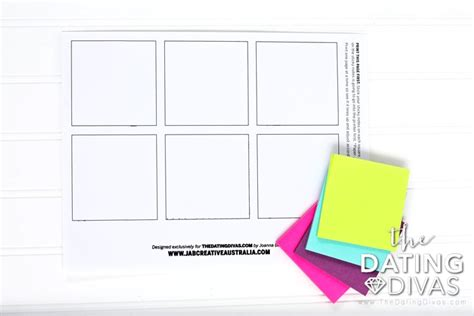 sticky note template up line sticky notes the dating divas