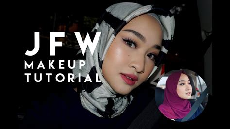 tutorial make up wardah you tube jakarta fashion week makeup tutorial wardah one brand