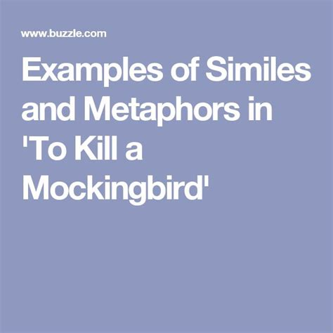 exles of theme in to kill a mockingbird with page numbers best 25 exle of simile ideas on pinterest simile