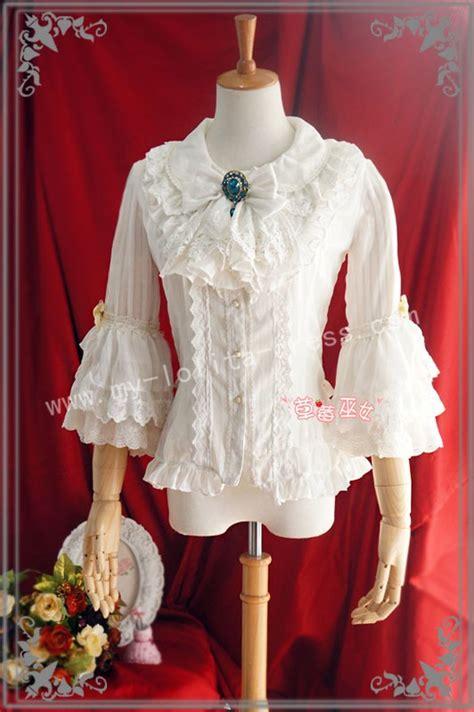 Olita Blouse sweet babydoll collar white blouse 65 99
