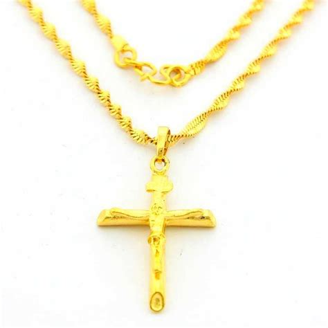 jewelry cheap get cheap gold cross necklaces aliexpress