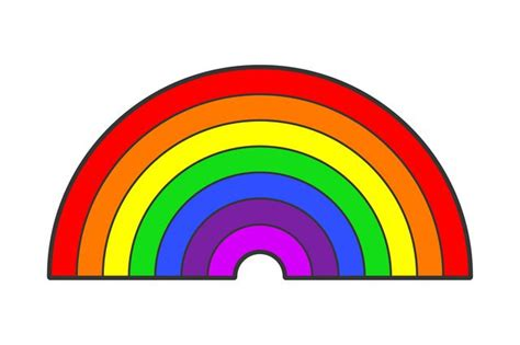 how many colors of the rainbow what are the colors in the rainbow with pictures ehow
