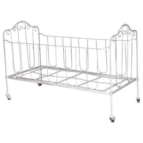 iron baby crib or doggie bed for sale at 1stdibs