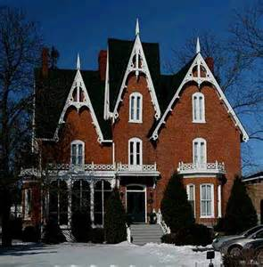 Gothic Style Home by Gothic Revival Home Beautiful House Designs Pinterest