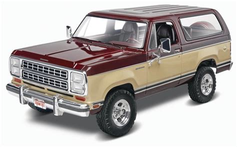 dodge model cars revell 1 24 1980 dodge 174 ramcharger plastic model kit