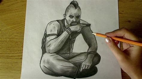 Far Cry 5 Sketches by How To Draw Vaas Far Cry 3