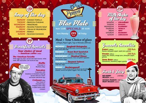 menu for cocktail for 50 american diner drinks menu american diner