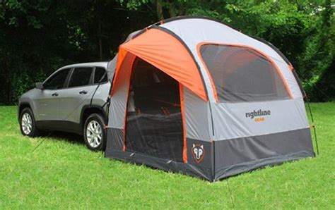 truck bed tent cer rightline gear suv tent with rainfly waterproof sleeps