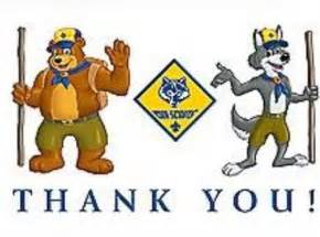 thank you s cub scout pack 242 florence kentucky