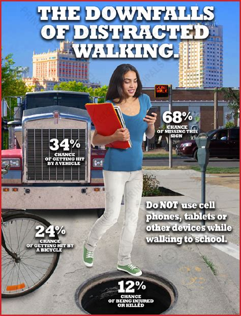 The Dangers Of Distracted Walking by The Downfalls Of Distracted Walking