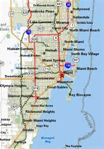 map of florida miami miami attractions miami hotels