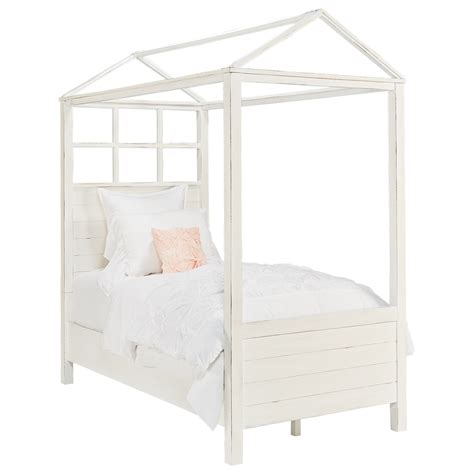 twin canopy bed playhouse twin canopy bed by magnolia home by joanna gaines wolf and gardiner wolf