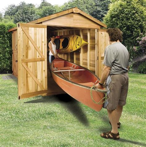 Kayak Shed by The Boathouse Kit Is Great For Canoe Kayak And Jet Ski