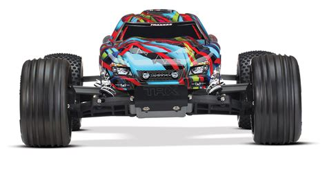 traxxas hawaiian boat traxxas rustler brushed hawaiian edition rc hobby pro