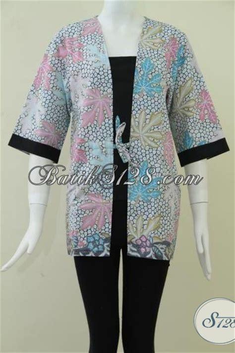 F20217014mot5 L Xl Blus Batik Tulis Panjang Atasan Batik Kantor Mrh atasan batik kerja wanita feminin dan anggun bls911p xl