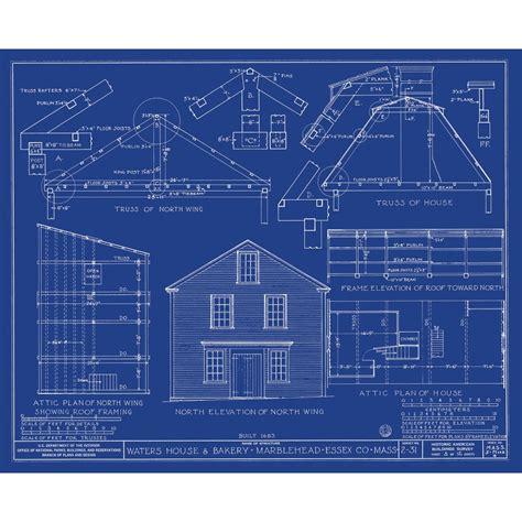 Home blueprints modern house