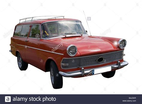 vintage opel car vintage opel rekord german car stock photo royalty free