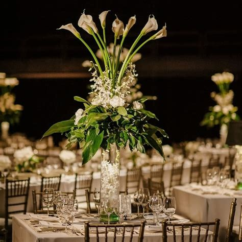 wedding centerpieces with calla lilies calla centerpiece
