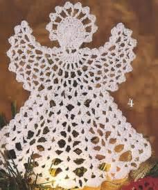21 thread crochet christmas tree ornaments angel snowflake