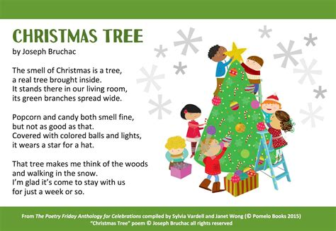 christmas tree poems for children poetry for children a poem