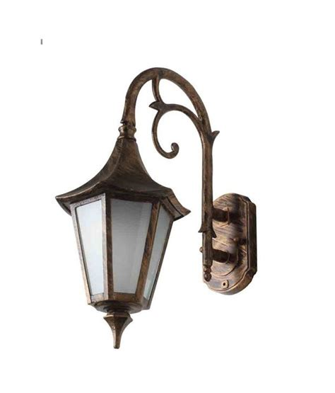 Buy Superscape Outdoor Lighting Antique Gold Wall Lights Outdoor Light Fixtures India