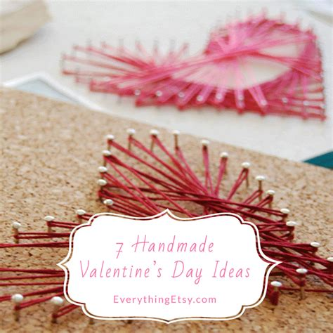 Handmade Gifts For Valentines Day - 7 handmade s day ideas everythingetsy