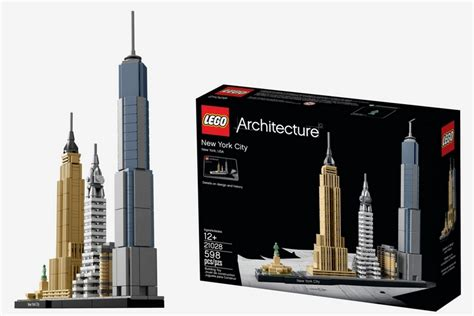 Nyc Set lego architecture new york city
