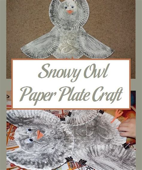 Canon Paper Craft Snowy Owl - owls